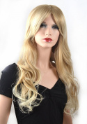 Coolsky Wig Sexy Long Curly Blond Woman Wigs