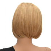 Coolsky Wigs Sexy Short Blond Woman Hair Cosplay Wig Costume Wig