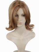 Dreamworld® High Quality Women's Short Blond Hair Heat Friendly Capless Wig