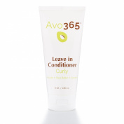 Avo365 - Leave in Conditioner Curly made with Cold Pressed Avocado Oil, Shea Butter, Coconut, Panthenol and Papaya
