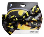 DC Comics BATMAN Logo Clip On HAIR BOW