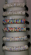 Pretty Hair Holders with Sparkly Rhinestones