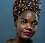 Queen african print Headwrap