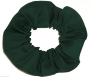 Forest Green Cotton Fabric Hair Scrunchie Handmade by Scrunchies by Sherry