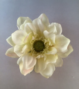 Garden Anemone Artificial Flower Hair Clip/Pin Brooch
