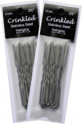 2 Pack 2.5 Crinkled Amish Hair Pins