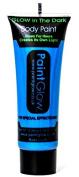 Paint Glow Glow In The Dark Blue Body Paint 10ml