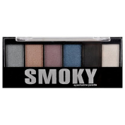 6 Colour Smoky Eye Shadow Palette