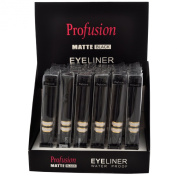 Profusion Matte Black Water Proof Eyeliner 2 Dz