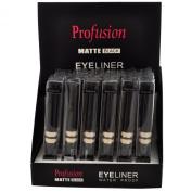 Profusion Matte Black Water Proof Eyeliner 2 Dz