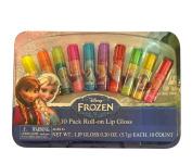 Disney Frozen 10 Pack of Roll-on Lip Gloss