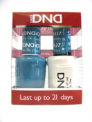 DND *Duo Gel* (Gel & Matching Polish) Fall Set 437 - Blue De France