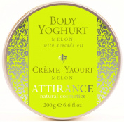 Attirance - Body Yoghurt - Melon - 200ml - All Natural with Melon Seed Oil & Avocado Oil