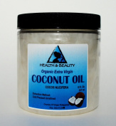 Coconut Oil Extra Virgin Organic Carrier Unrefined Cold Pressed Raw Pure in Jar 240ml