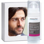 Men's Best Anti-ageing Moisturiser With New Patented L22 From YEOUTH