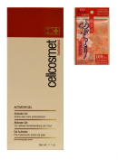 cellcosmet activator gel 200ml with oil blotting paper by Daiso Japan