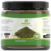 Natural Escentials HIGH QUALITY Citrus Seaweed Facial Mask - Includes Seaweed Powder, Indian Healing Bentonite Clay, 6-Fold Sweet Orange Essential Oil.