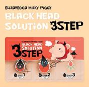 Elizavecca Milky Piggy Black Head 3 Step Solution Nose Pack