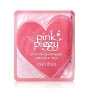 Shara Shara Pink Piggy Hydrogel Collagen Mask