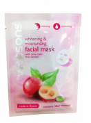 6 Packs of Watsons Whitening & Moisturising Facial Mask with Camu Camu Fruit Extract. Made in Korea.