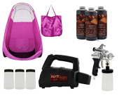 MaxiMist SprayMate Pro Spray Tanning System with Pink Tent