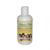 Nature's Baby Organics Shampoo and Body Wash Lavender Chamomile - 240ml by NATURE'S BABY ORGANICS