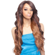 Outre Quick Weave Complete Cap (Half) Wig - HEATHER (1B Off Black) by Sun Taiyang