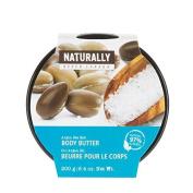 Upper Canada Soap Naturally Body Butter, Argan Sea Salt, 190ml by Upper Canada Soap