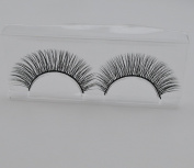 Handmade High Quality Synthetic Natural Cross Long False eyelashes fake eye lashes make up 3pairs