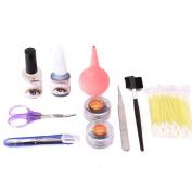 XX Shop Eyelash Extension Glue Adhesive Remover Tweezer Kit Make-up Set Kit