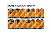 Halloween 2 Nail Art Wraps Decals Nail Art Transfer Stickers Set of 14