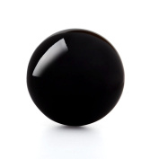 Eachbid Natural Black Obsidian Sphere Large Crystal Ball Healing Stone Dia. 40mm