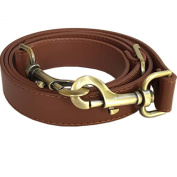 The Everyday Collection - 2.5cm Wide Brown Adjustable Replacement Cross Body Purse Strap