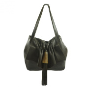 'Cosima' Luxury Deerskin Hobo Handbag by Viva