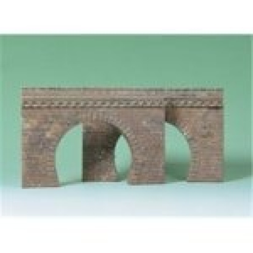 Ho 2 double track tunnel portals best price ebay for N scale tunnel portal dimensions