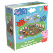 Peppa Pig Giant Muddy Puddle Floor Jigsaw Puzzle