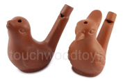 Clay bird whistle warbling bird caller water whistle ocarina flute - FREE 1ST CLASS POSTAGE