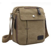 Ardisle Men's Canvas Shoulder Messenger Rucksack Backpack School Travel Bag Satchel Man Mans