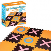 Giant Garden Naughts & Crosses Outdoor Lawn Game Kids Adults Family Tic Tac Toe