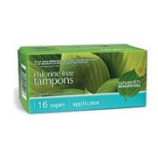 Seventh Generation Tampon Applicator, Super 16 ct