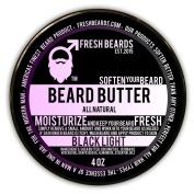 """Fresh Beards """"Black Light"""" Premium beard Butter - 120ml"""