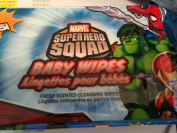 Baby Wipes Marvel Super Hero Squad