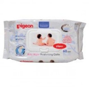 Pigeon Baby Wipes Cloth Moisturising Formula Contain 60 Sheets