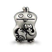 OHM Uglydoll Babo Sterling Silver Bead