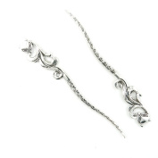 40 pcs Jewellery Making Charms Antique Ancient Silver Tone Findings Jewellery Charme Bulk Wholesale Supplies Supply L0CC6 Fox Hairpin Bookmark