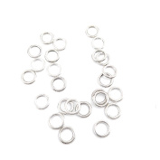 930 pcs Jewellery Making Charms Antique Ancient Silver Tone Findings Jewellery Charme Bulk Wholesale Supplies Supply 93420 Jump Rings 10mm