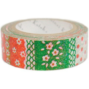 SEAL-DO Flower Parlour - Washi Tape - Made in Japan
