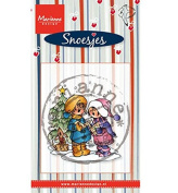 Marianne Design Clear Stamp, Singing Snoesjes