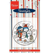 Marianne Design Clear Stamp, Snoes and Snowman