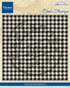 Marianne Design Clear Stamp, Anja's Plaid